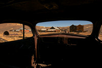 Bodie from the Inside of a Truck